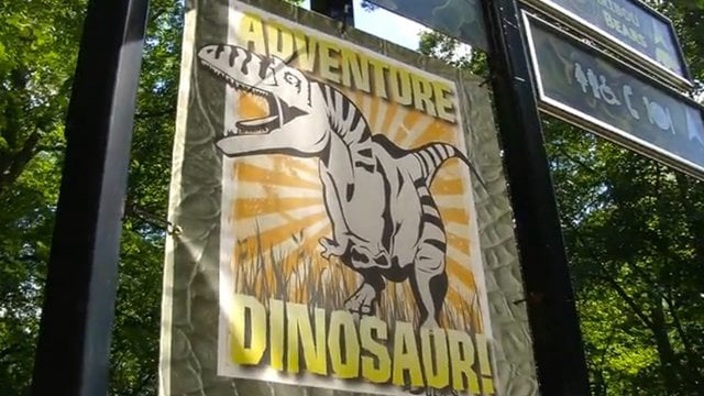 Milwaukee County Zoo: Adventure Dinosaur (2012)