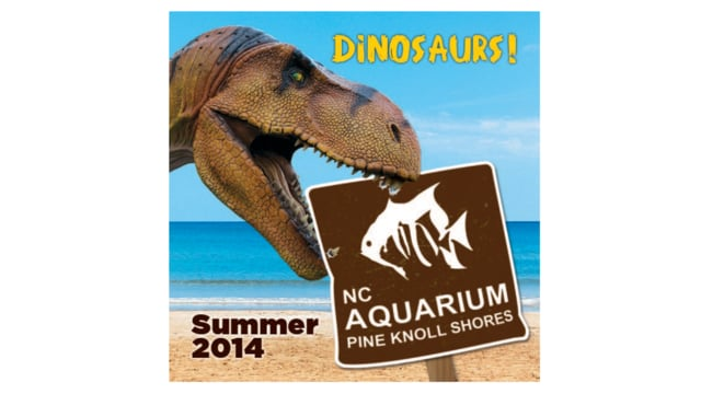 North Carolina Aquarium at Pine Knoll Shores: Dinosaurs (2014)