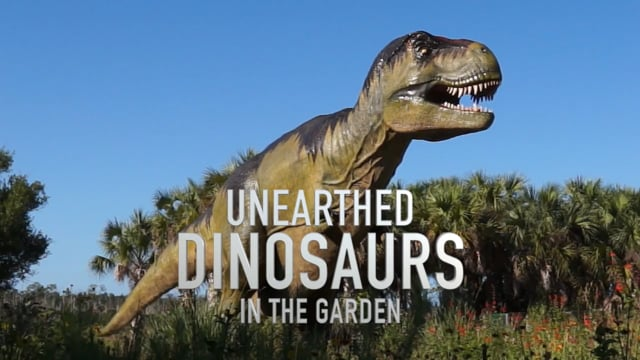 Naples Botanical Garden: Unearthed Dinosaurs in the Garden (2015)