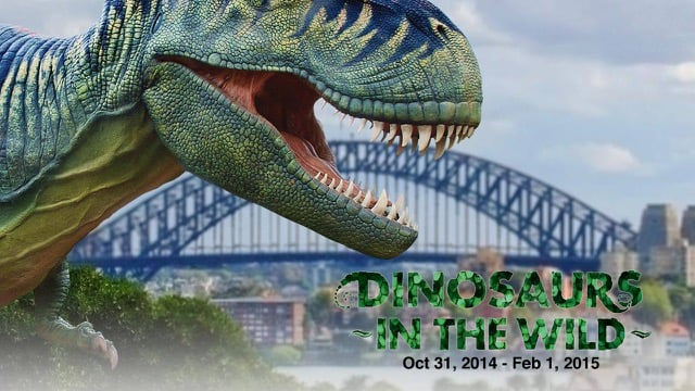 Taronga Zoo: Dinosaurs in the Wild (2015)