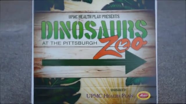 Pittsburgh Zoo & PPG Aquarium: Dinosaurs at the Pittsburgh Zoo (2017)