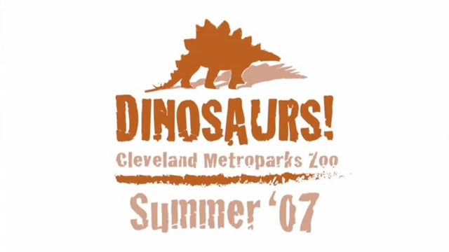 Cleveland Metroparks Zoo: Dinosaurs (2009)