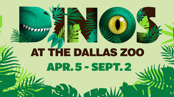 Dallas Zoo, Apr 5 through Sep 2, 2019