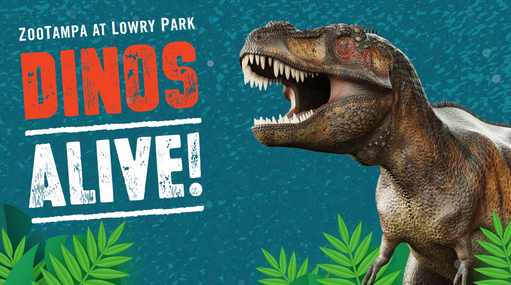 Dinos Alive at Zoo Tampa!
