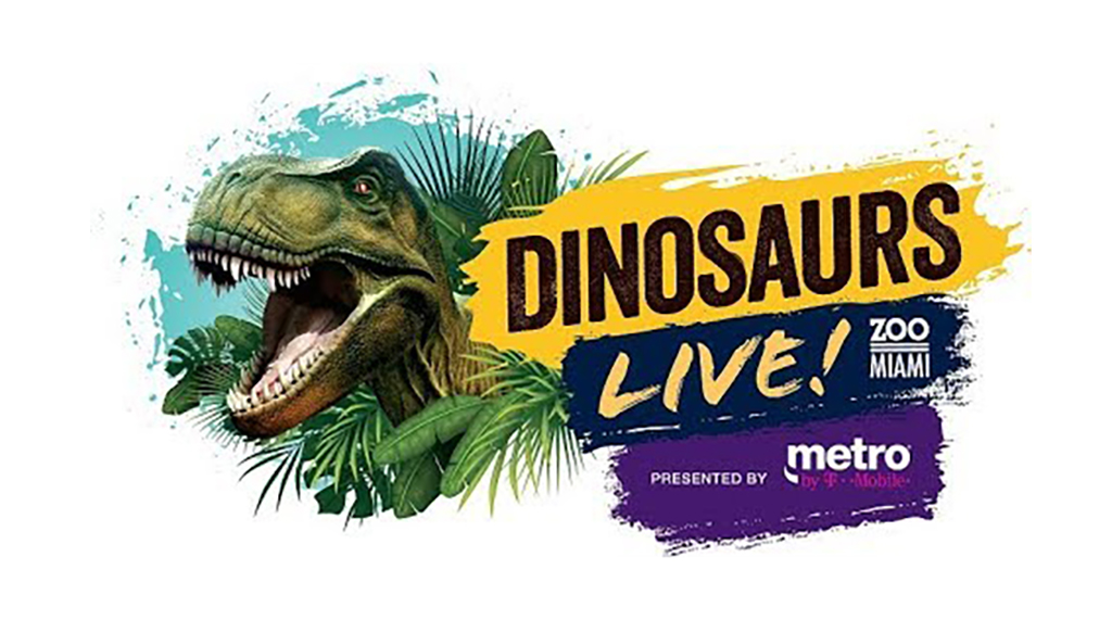 Dinosaurs Live returns to Zoo Miami!
